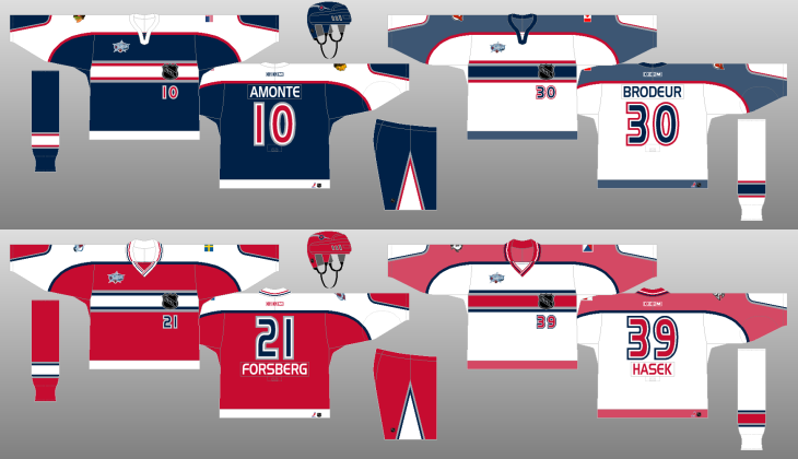 finest selection 69d84 fb9e4 Ranking every NHL All-Star Game jersey of all-time ...
