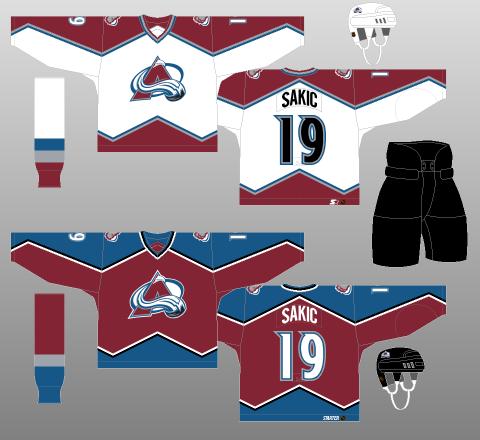 6de2f4625 1998-99 Colorado Avalanche - The (unofficial) NHL Uniform Database
