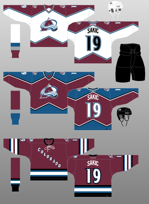 4457471a8 Colorado Avalanche Should Wear White At Home