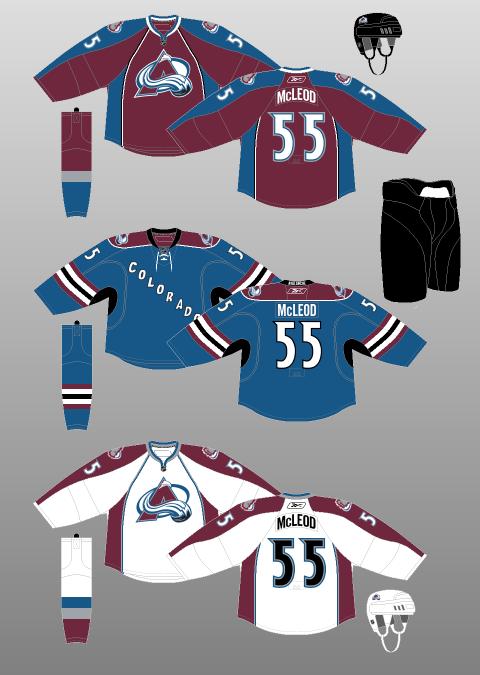 4034da67 The jersey had the same diagonal Colorado ...