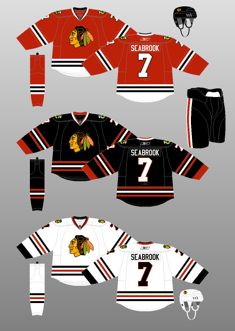 0da70803cf3 2008-09 Chicago Blackhawks - The (unofficial) NHL Uniform Database