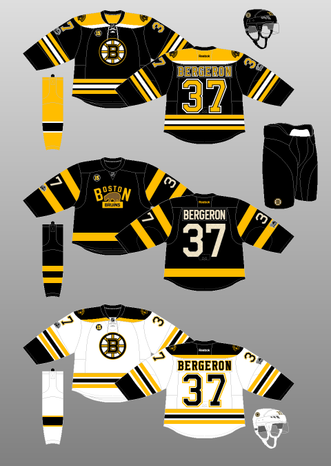 new product 2135e 6117b Boston Bruins 2016-17 - The (unofficial) NHL Uniform Database