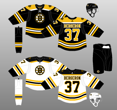 pick up 170c0 0f55c Boston Bruins 2017-present - The (unofficial) NHL Uniform ...