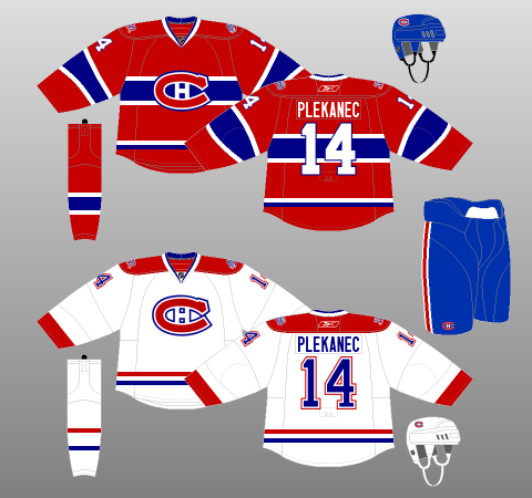 2008 09 Montreal Canadiens The Unofficial Nhl Uniform Database