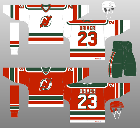low cost 5c060 514f7 New Jersey Devils 1982-92 - The (unofficial) NHL Uniform ...