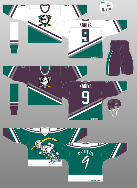 first rate 44487 c7959 Mighty Ducks of Anaheim 1995-96 - The (unofficial) NHL ...