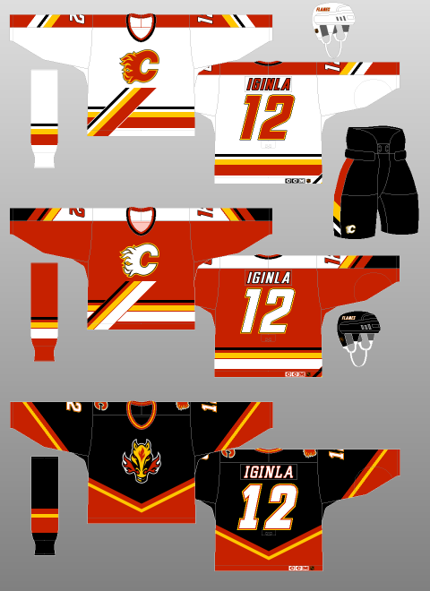 Calgary Flames 1998 2000 The Unofficial Nhl Uniform Database