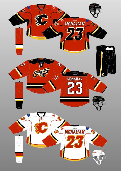calgary flames jersey