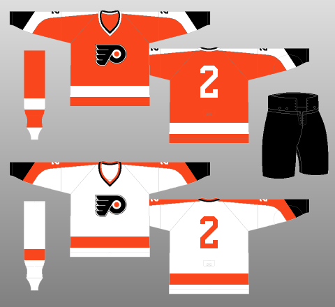 13cd4a5c5 Philadelphia Flyers 1967-70 - The (unofficial) NHL Uniform Database