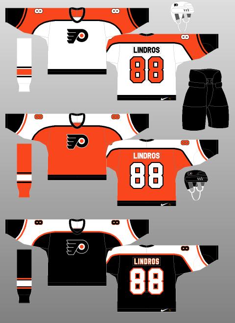Philadelphia Flyers 1997 2001 The Unofficial Nhl Uniform Database