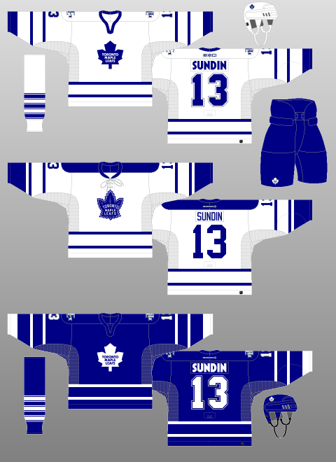 detailed look 3ad7e 26d51 Toronto Maple Leafs 2000-07 - The (unofficial) NHL Uniform ...