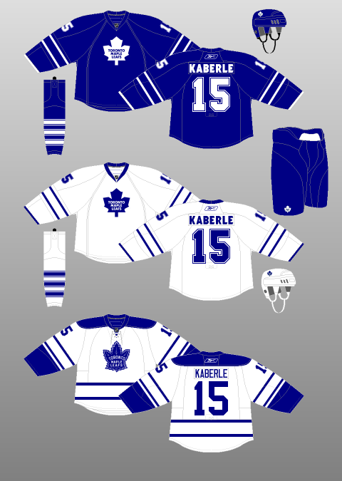 Toronto Maple Leafs 2008-10 - The (unofficial) NHL Uniform Database eb85b4f5a