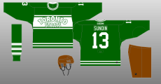 e9218d7ad82 In honor of the 75th anniversary of the St. Pats becoming the Maple Leafs,  the team wears vintage St. Pats jerseys in their game against the Buffalo  Sabres ...