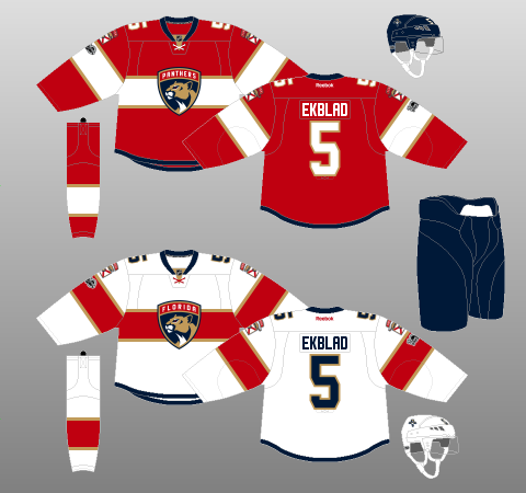 459934db86c Florida Panthers 2016-17 - The (unofficial) NHL Uniform Database
