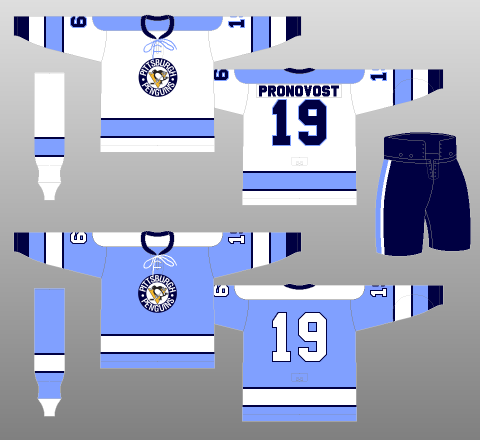 Pittsburgh Penguins 1970-71 - The (unofficial) NHL Uniform Database 463260743