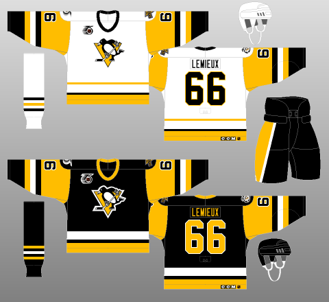 1991-92 Pittsburgh Penguins - The (unofficial) NHL Uniform Database 78d4e7791