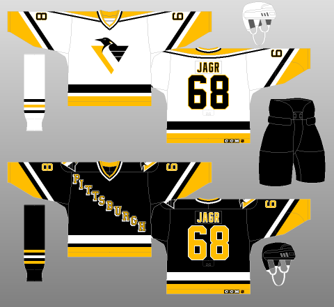 Pittsburgh Penguins 1992-95 - The (unofficial) NHL Uniform Database dba36e37a