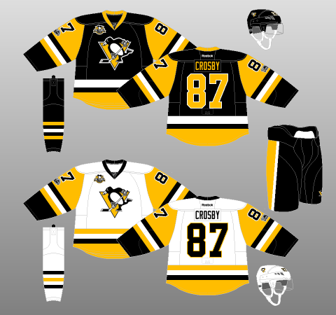 Pittsburgh Penguins 2016-17 - The (unofficial) NHL Uniform Database d493487ad