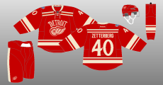 2013 14 Detroit Red Wings The Unofficial Nhl Uniform Database