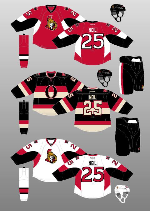 3cb26252e Ottawa Senators 2011-17 - The (unofficial) NHL Uniform Database