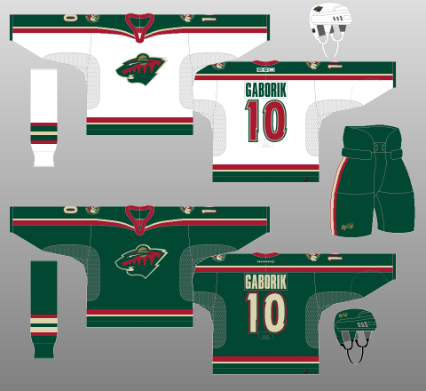 on sale 45119 64c05 Minnesota Wild 2000-03 - The (unofficial) NHL Uniform Database